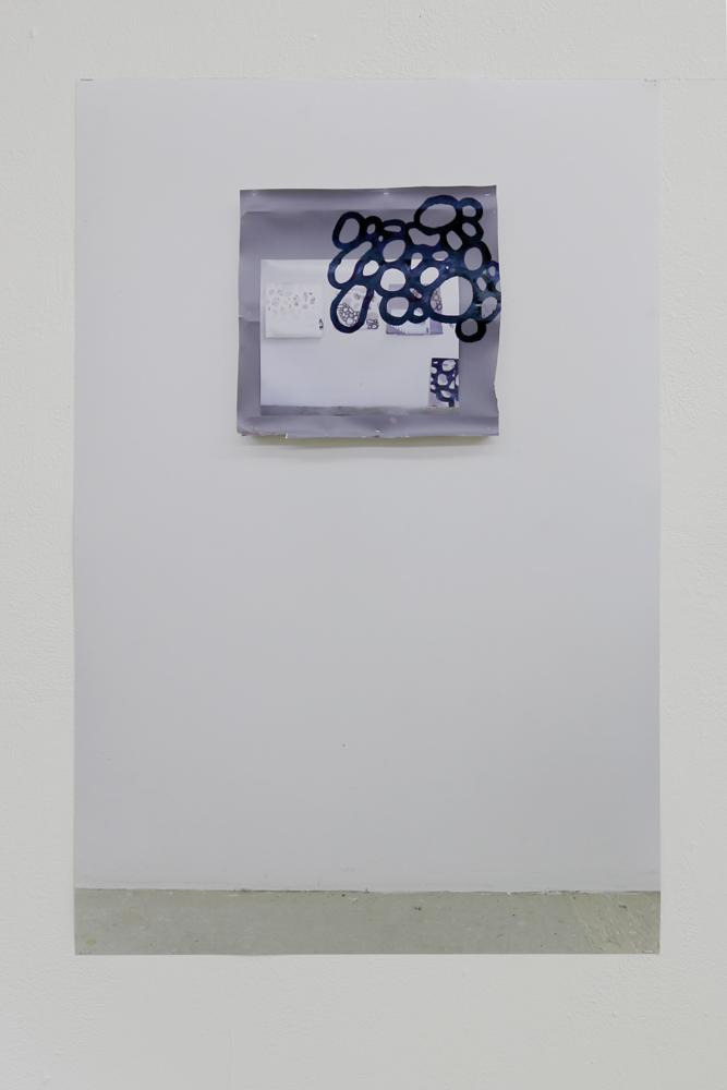 Zellspiegelung, 2016, Digitaldruck, 80x60 cm
