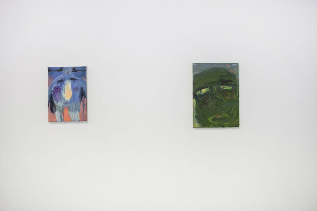 Ausstellungsansichten Can I be your Avatar?,2018,  basis e.V., Frankfurt am Main