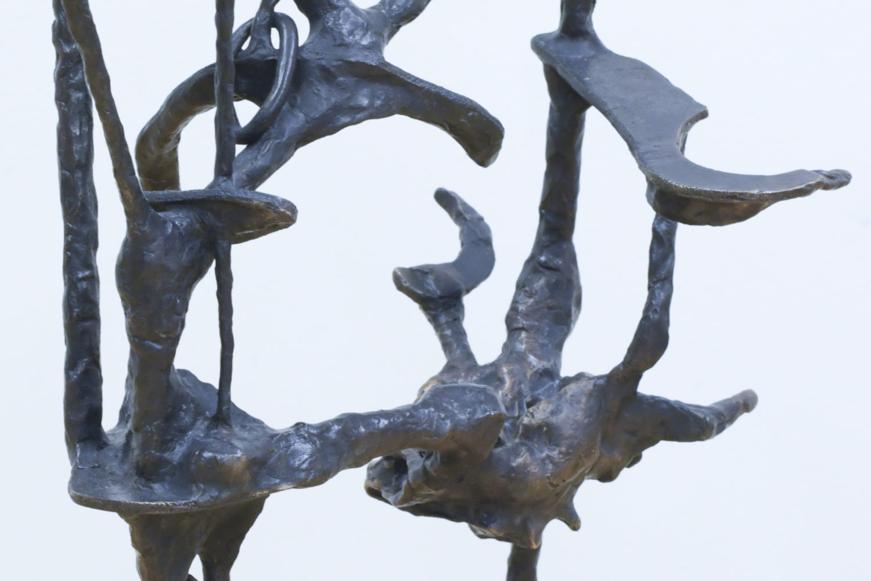 Paul Schuseil_Pose no 15 (Knoten unter Waldlichtung)_Detail