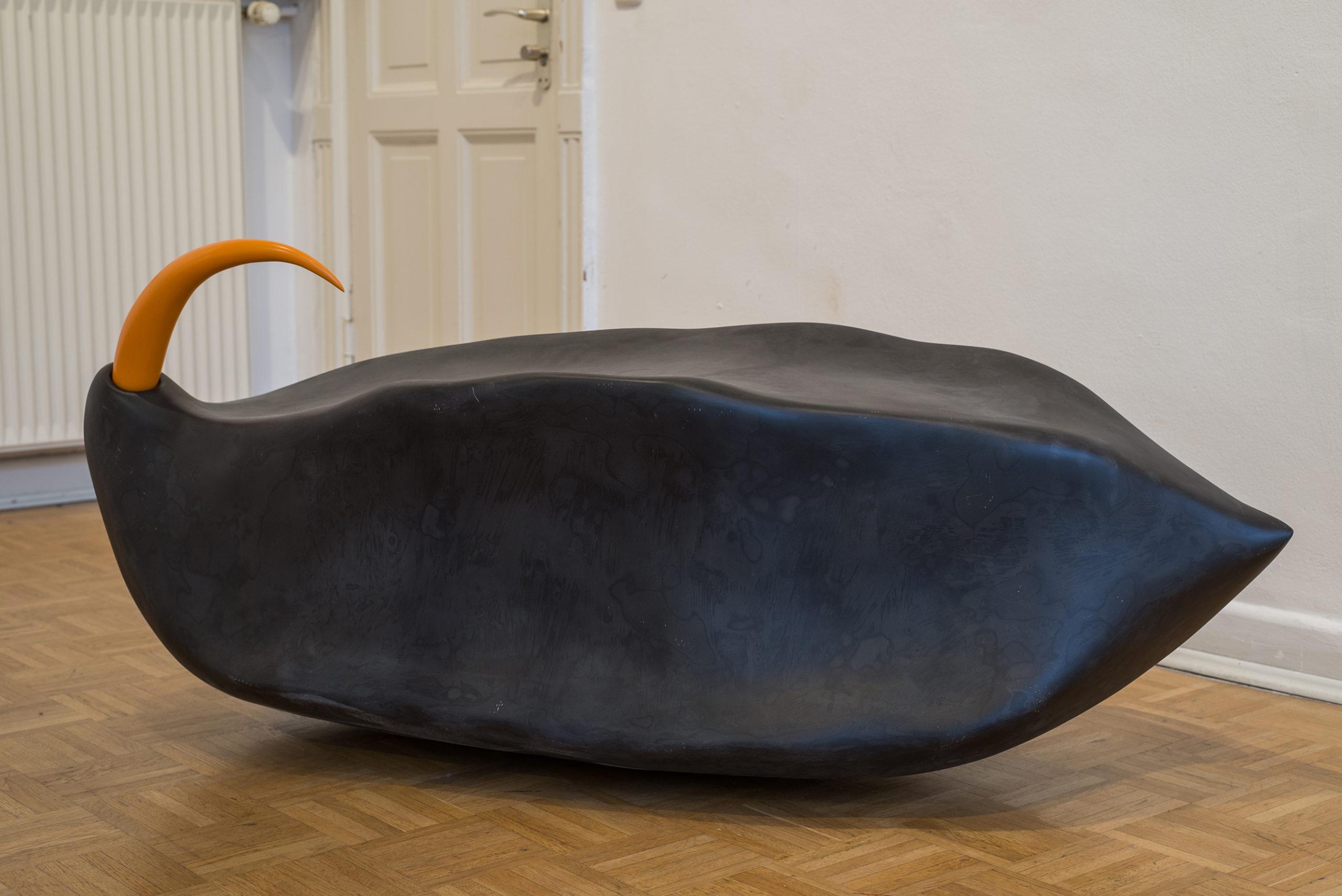 ANNEX, Doppelausstellung von Paul Schuseil und Stefan Seelge, Ausstellungsansicht Kunstverein Bellevue-Saal Wiesbaden März 2020(Foto: Dirk Uebele)