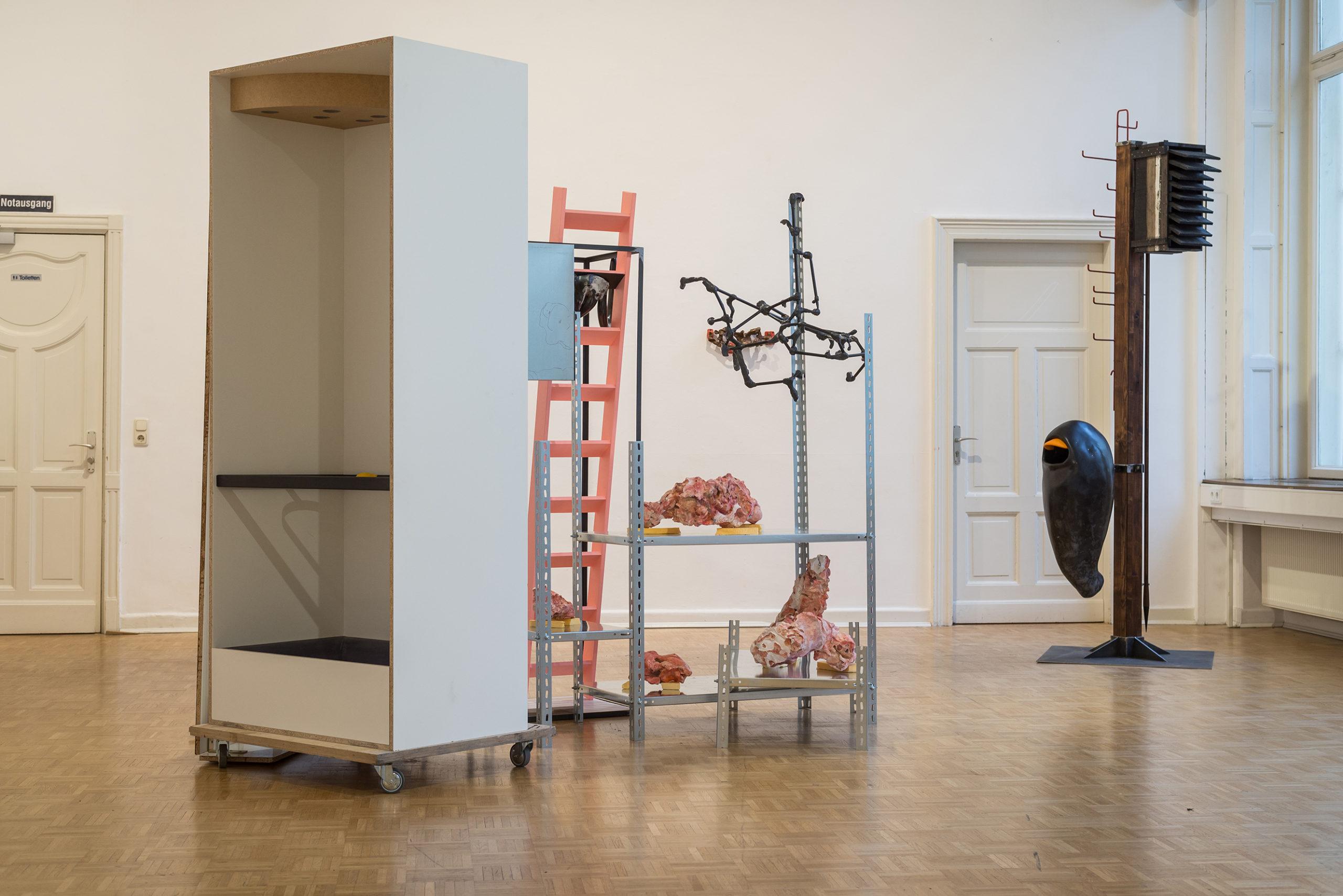ANNEX Ausstellungsansicht Kunstverein Bellevue-Saal Wiesbaden März 2020(Foto: Dirk Uebele)