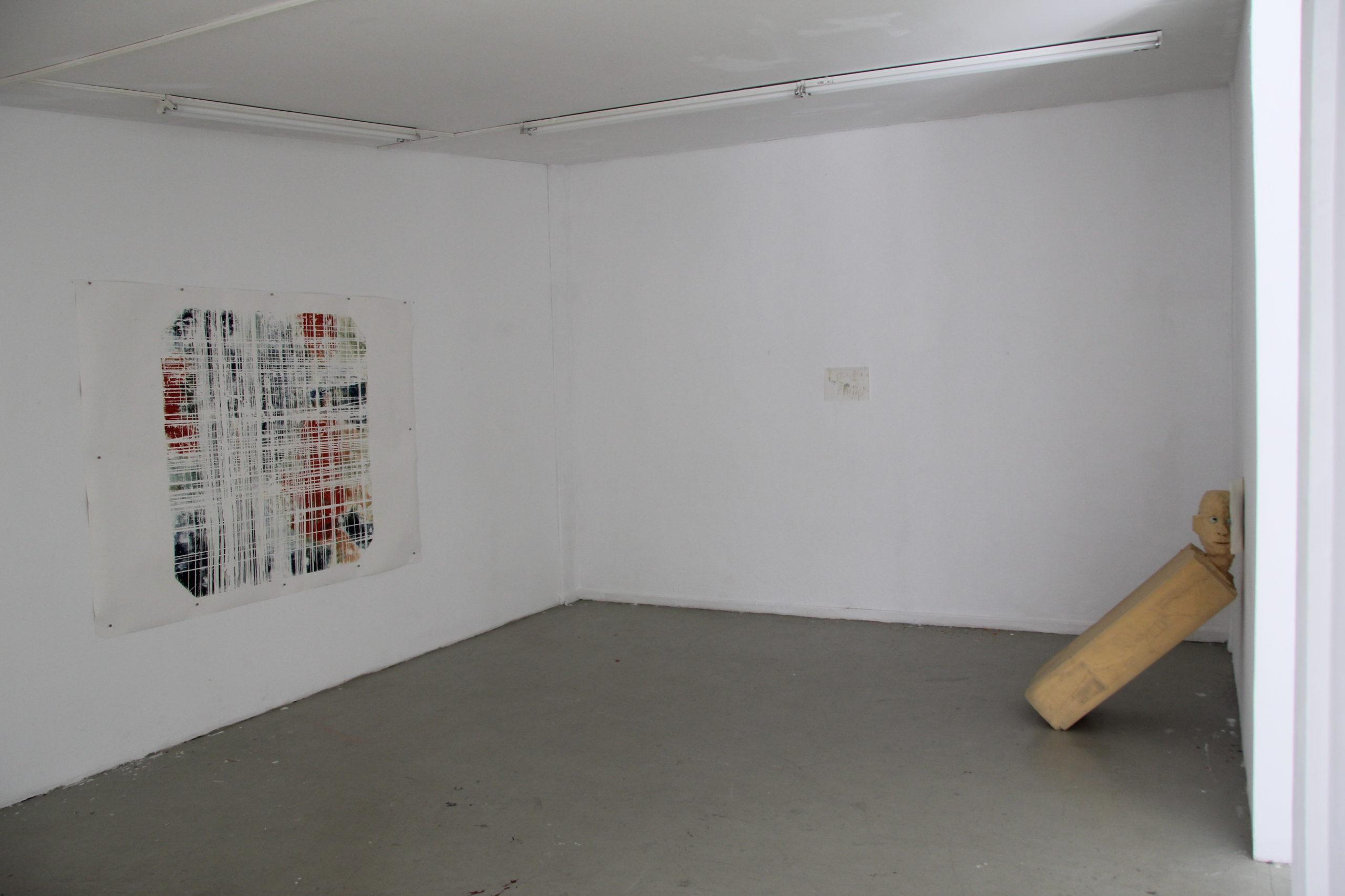 Schalttag - 2020 - Ausstellungsansichten (Arbeiten von Lukas Gartiser, Paul Laakmann und Paul Schuseil